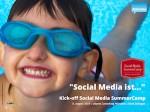 Kick-off Social Media ist...