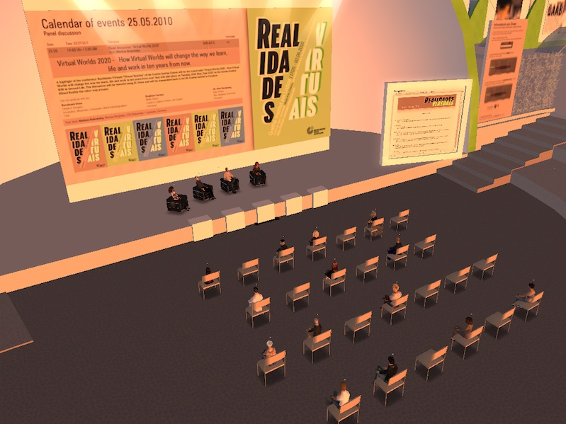 Roundtable Virtual Worlds 2020 in Second Life
