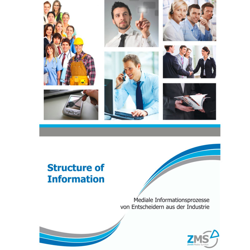 "Titelseite Studie ""Structure of Information"""