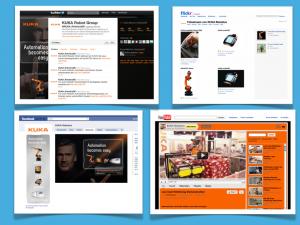 B2B Beispiel Social Media • Kuka Roboter GmbH