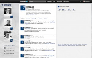 Krones AG @ Twitter