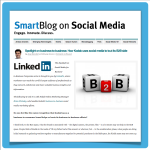 "Screenshot Artikel ""SmartBlog on Social Media"""