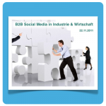 Illustration B2B Social Media Tagung