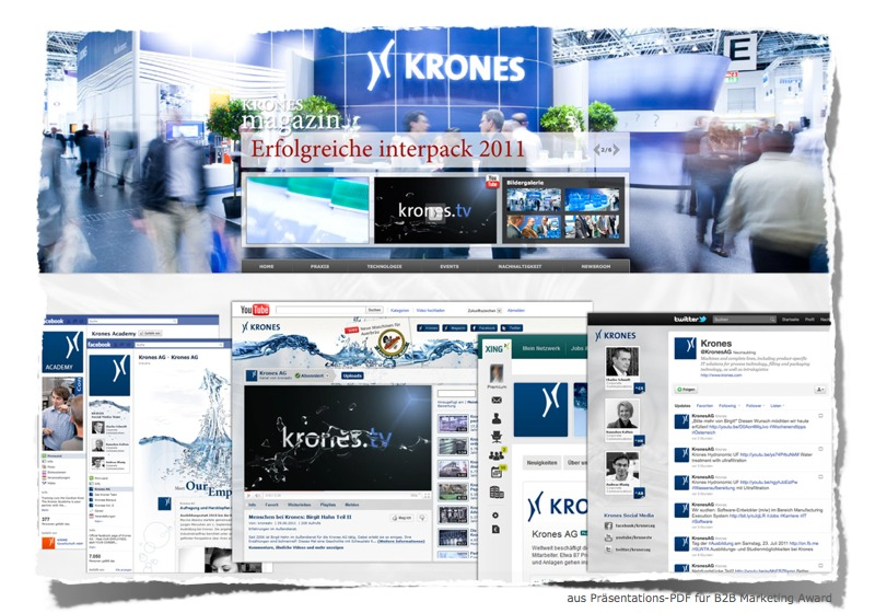 B2B Social Media - Krones - B2B Marketing Award