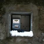 Stromkasten - Rom im Schnee :: Foto: DoSchu.Com