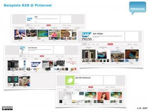 Pinterest B2B :: Beispiele 4/4