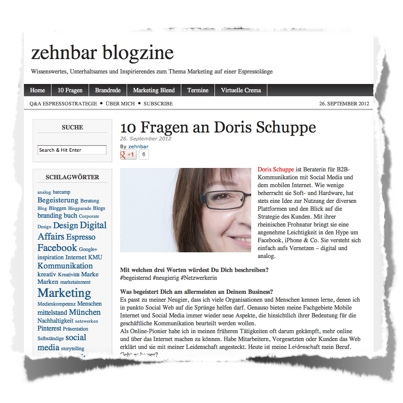 Interview DoSchu :: Screenshot zehnbar blogzine