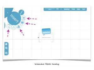 Screenshot :: PREZI Import Optionen