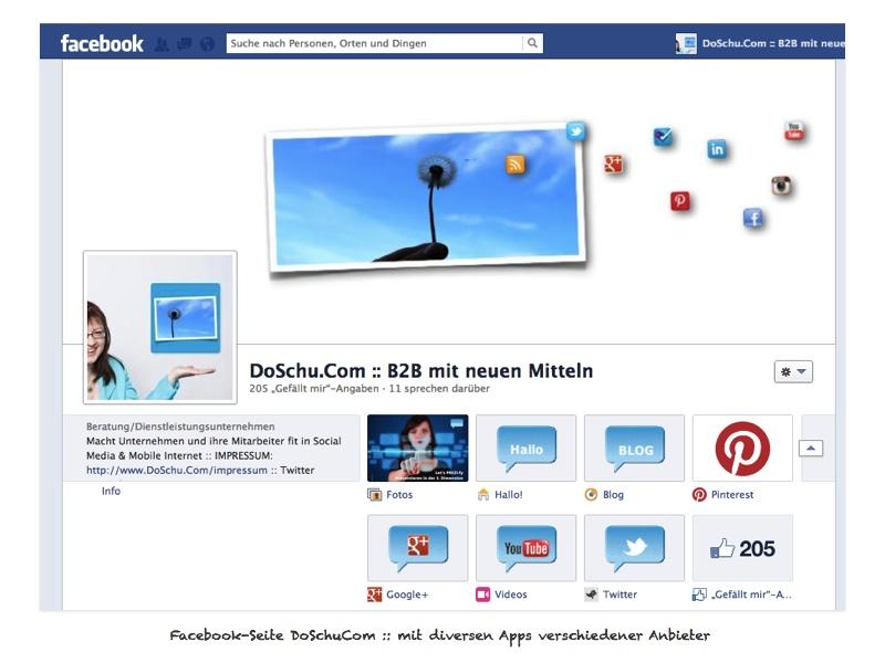 Facebook Gretchenfrage: Profil oder Seite   DoSchu.Com
