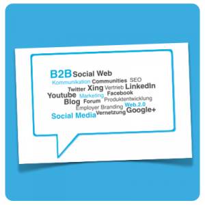 B2B Social Media (Illustration)