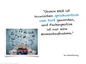Globales Dorf :: Zitat Westerbarkey