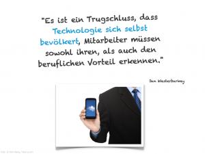 Technologie und Mitarbeiter :: Zitat Westerbarkey