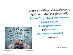 Veränderung :: Zitat Heike Scholz