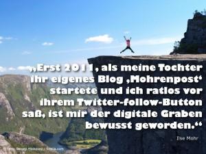 Digitaler Graben - Ilse Mohr