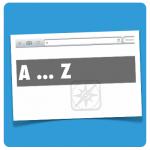 A-Z Liste Browser