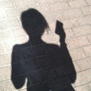 smartphone shadow