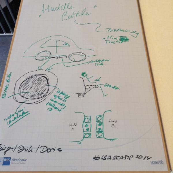 Chindogus Huddle Bubble & Hire Tire