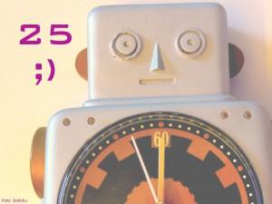 Robot sagt: 25 ;)