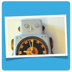 Uhr fürs Bloggen