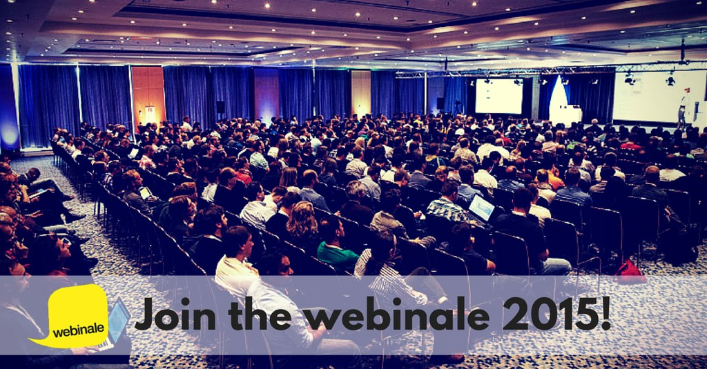 Banner Webinale 2015