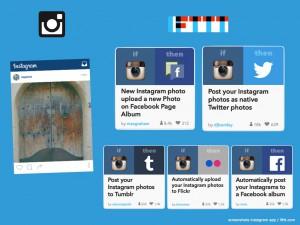 Instagram Verbreitung ifttt