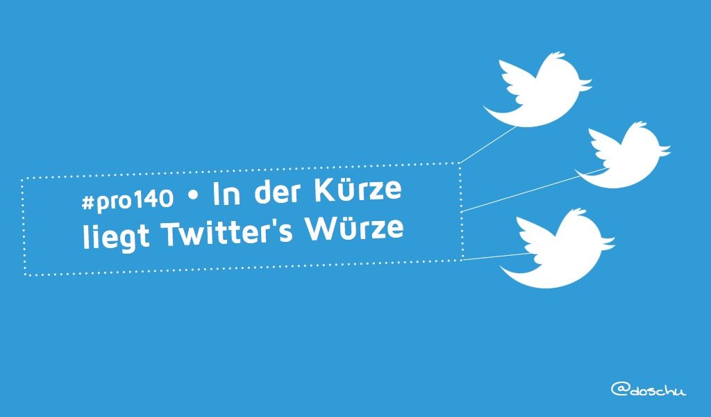 140 Zeichen Twitter