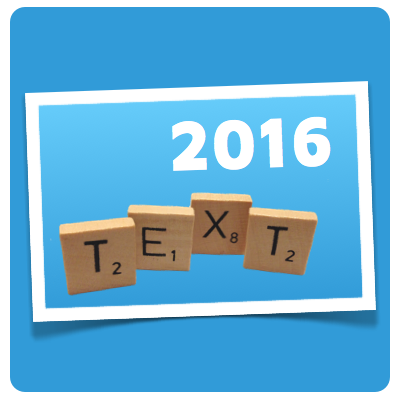 Text 2016 illustration