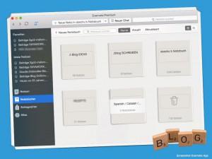 Bloggen mit Evernote