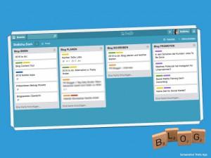 Blogplanung mit Trello