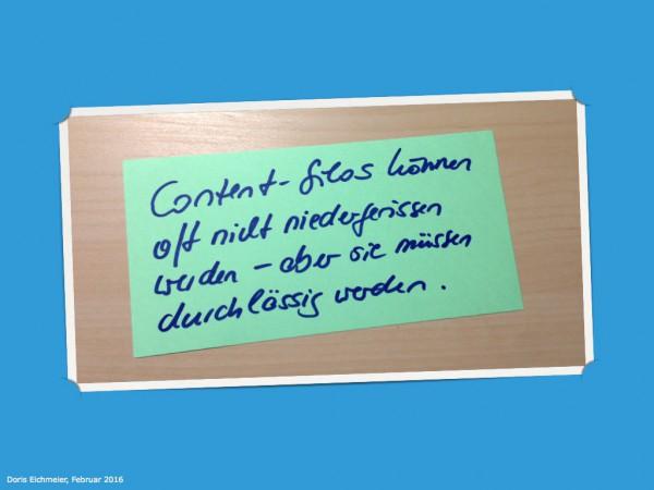 content silos content strategie