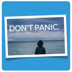 DON'T PANIC - illustration