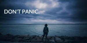 don't panic - illustration