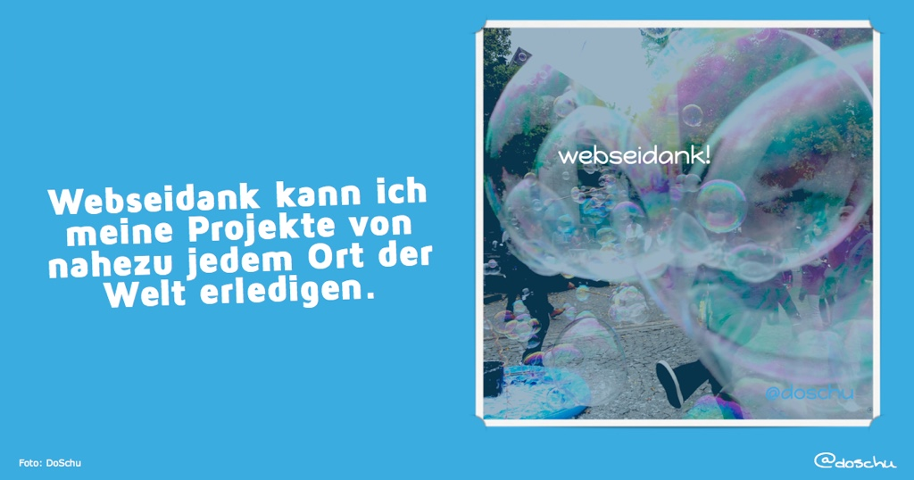Flexibel, webseidank!