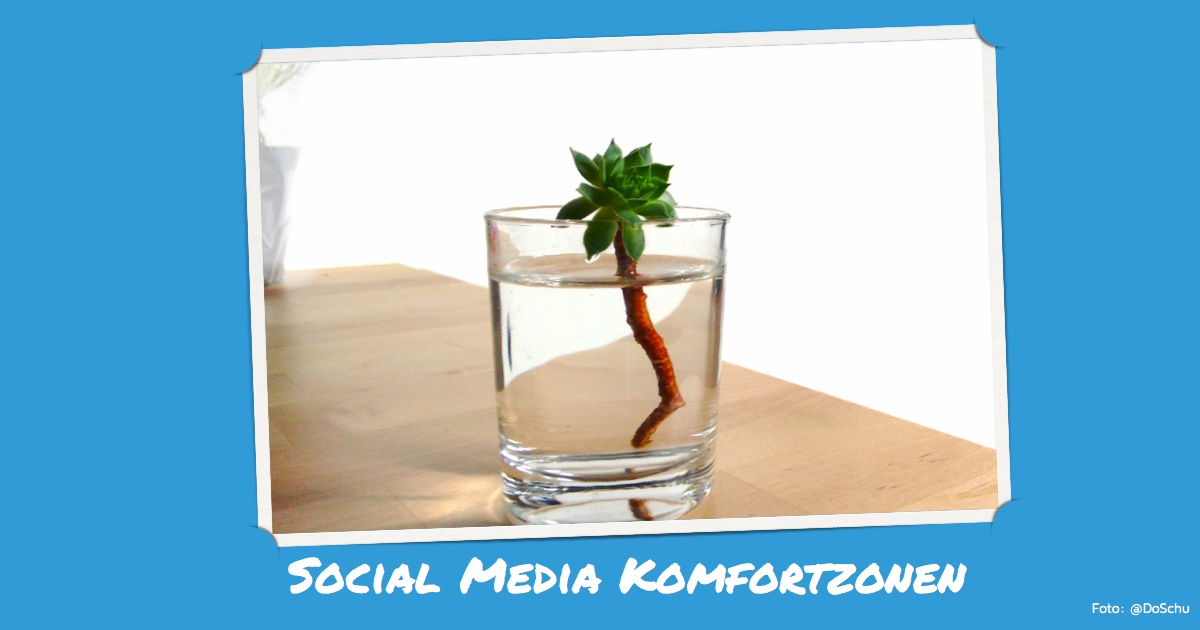 Illustration Social Media Komfortzone (foto: DoSchu)