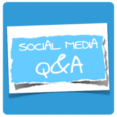 illustration Social Media Q&A