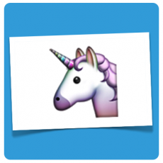 einhorn emoticon