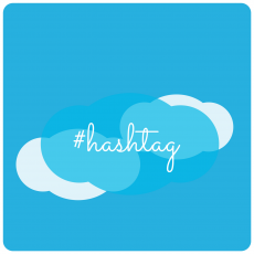 Illustration Hashtag