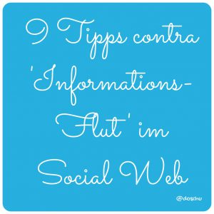 illustration 9 Tipps contra Informationsflut im Social Web