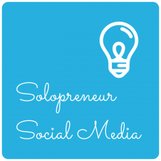 illustration Solopreneur Social Media