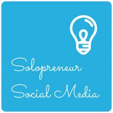 illustration Solopreneur Social Media