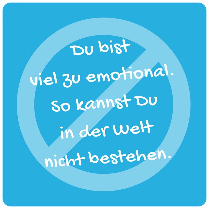 Glaubenssatz zum Vergessen - Emotionen