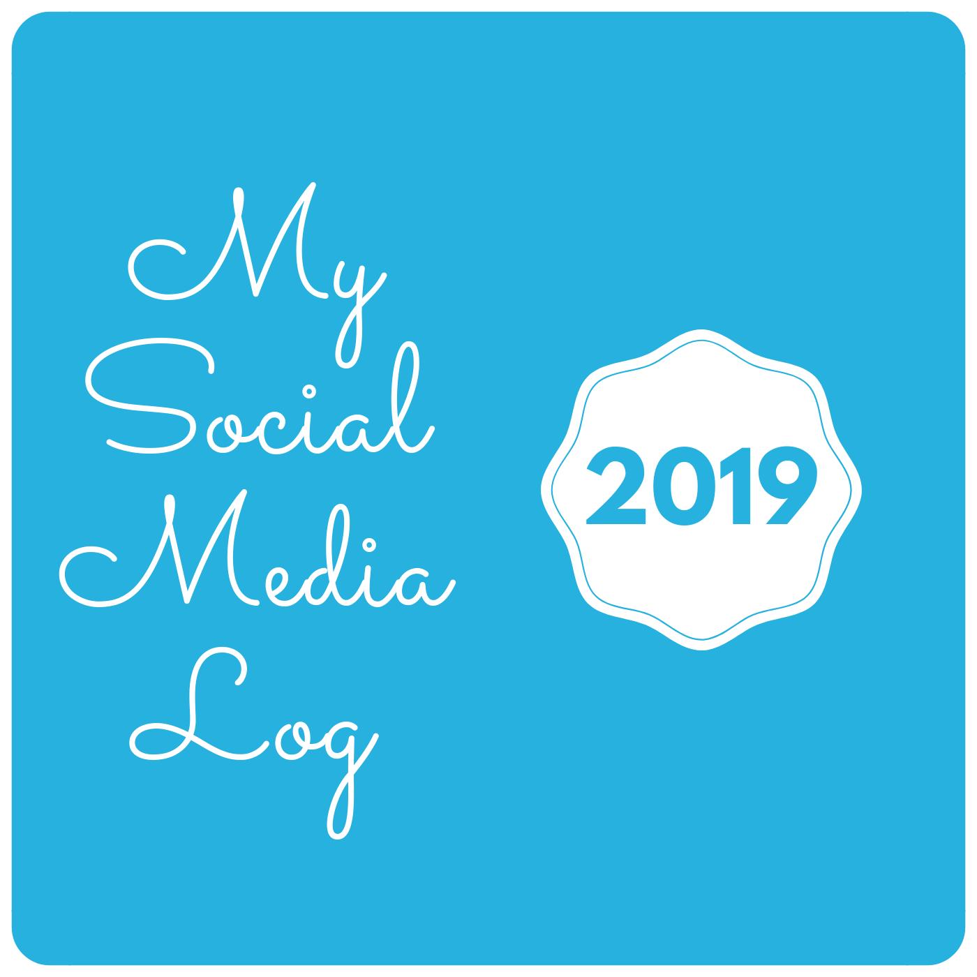 Social Media Log 2019