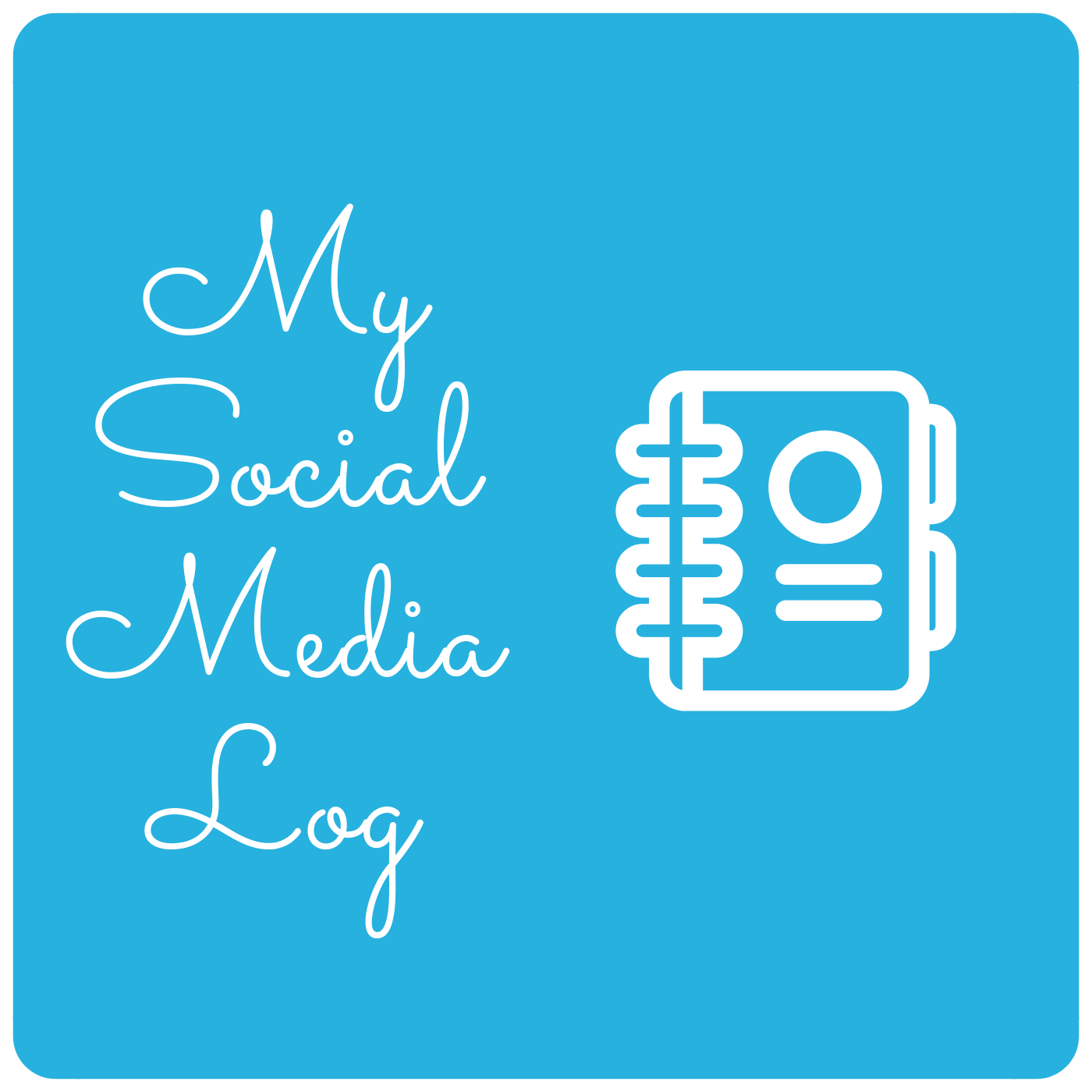 Blogvisual Social Media Log
