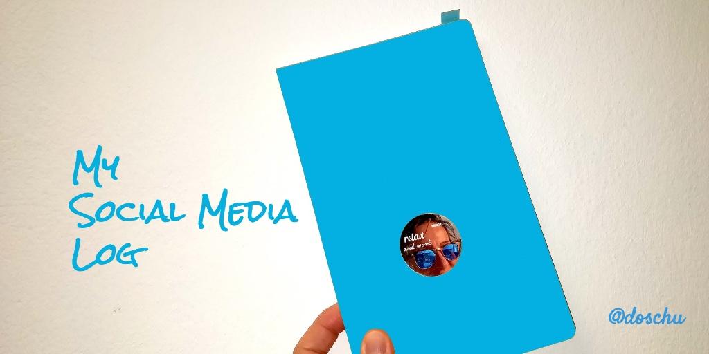 Illustration Social Media Logbuch