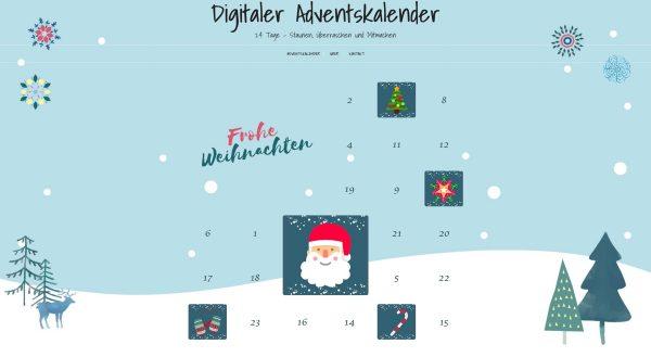 Online-Adventskalender von Voll und Lademann