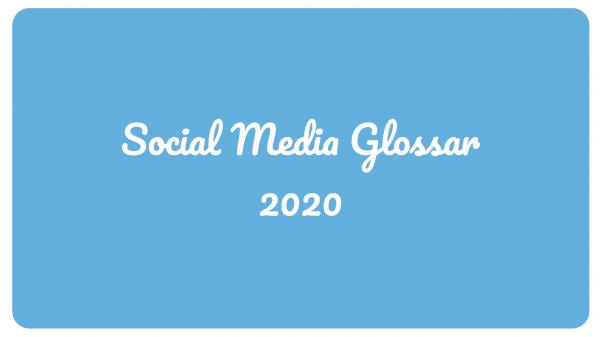 Social Media Glossar - DoSchu.Com
