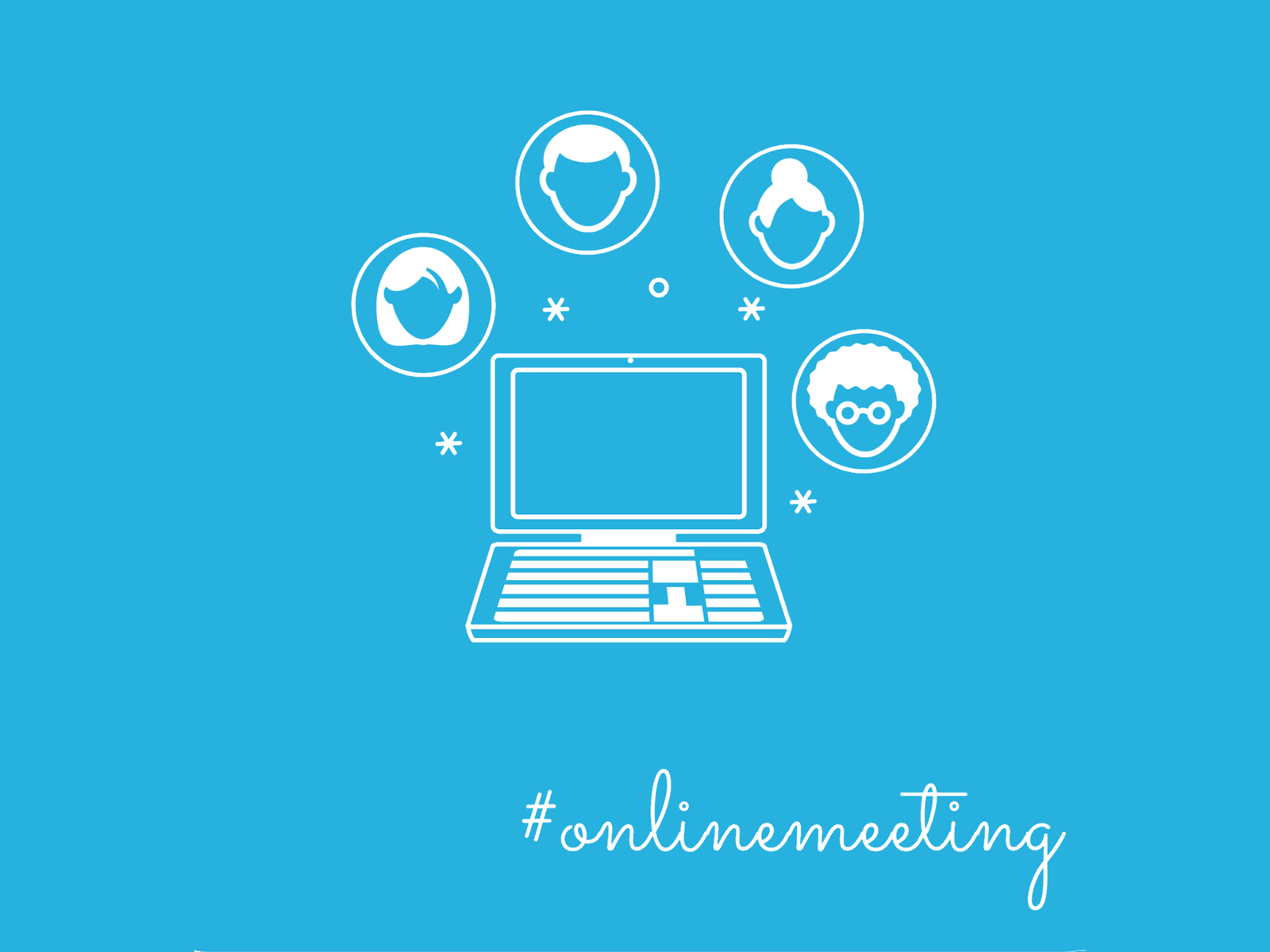 Online Meeting Illustration DoSchu