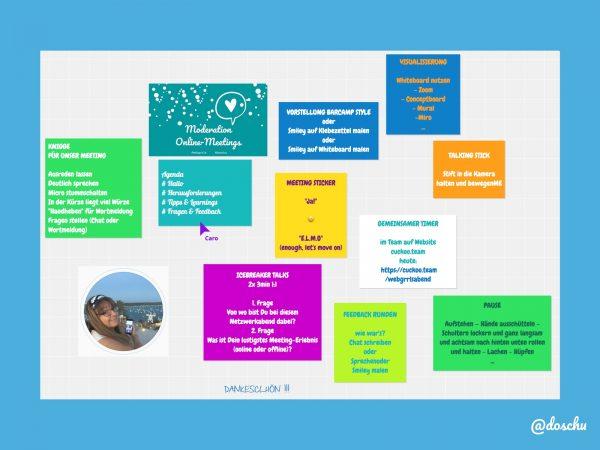Online Whiteboard zur Session beim webgrrls Netzwerkabend
