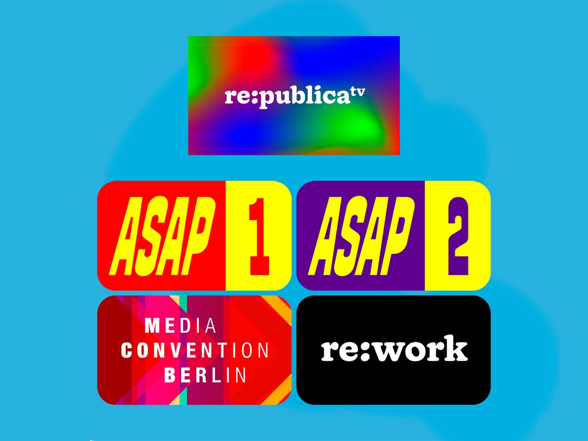 re:publica 2020 Key Visual & Channels #rpremote