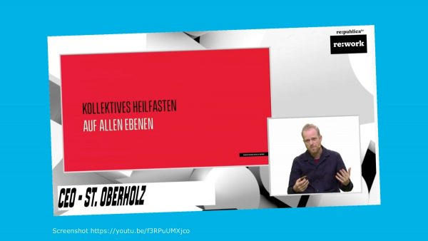 Kollektives Heilfasten Ansgar Oberholz #rpremote